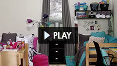 Decorate your dorm walls video