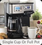 Hamilton Beach - Single Cup or Full Pot