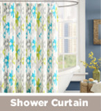 Ink & Ivy Shower Curtain