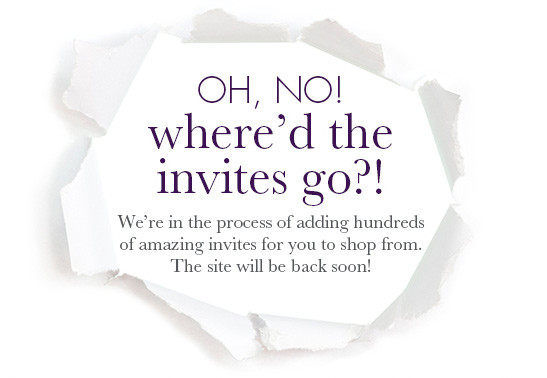 Wedding Invitations Bed Bath And Beyond: Invitations & Accessories