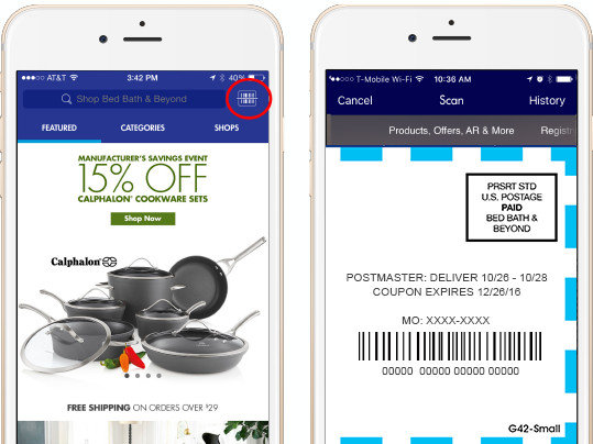 Bed Bath And Beyond Mobile Scan Coupon