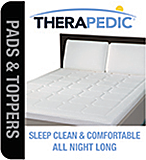 Therapedic - Mattress Pads and Toppers