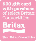 $30 gift card with purchase of select Britax Convertibles. Shop Britax Convertibles.
