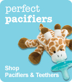 Shop Pacifiers and Teethers