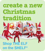 create a new Christmas tradition Shop THE ELF on the SHELF