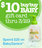 Spend $20 on Babyganics