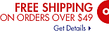 Free Shipping on Orders Ove