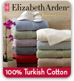 Elizabeth Arden Towels 100% Turkish Cotton