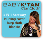 3-in-1 accessory, nursing cover, burp cloth, blankie