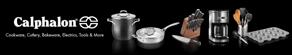 Calphalon cookware cutlery bakeware electrics tools and more