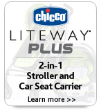 Liteway Plus 2-in1 Stroller and Car Seat Carrier Learn More