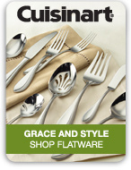 Cuisinart Grace and Style Shop Flatware