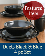 Duets Black & Blur 4 pc Set