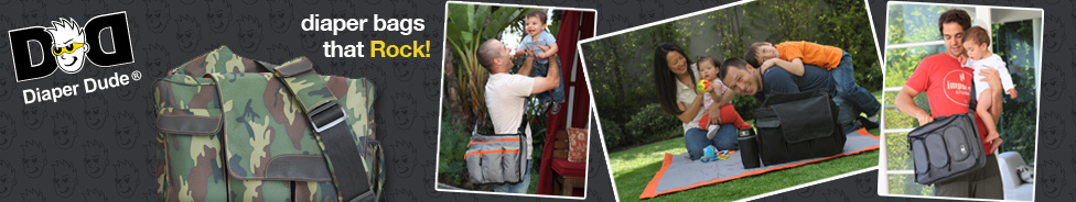 Diaper Dude Diaper Bags that Rock