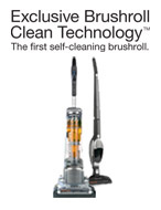 Exclusive Brushroll Clean Technology: The first self-cleaning brushroll