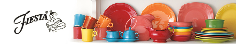 Fiesta colorful cookware, bakeware and dinnerware Made in the USA