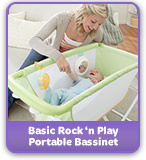 basic rock 'n play portable bassinet