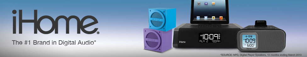 iHome The number one Brand in Digital Audio