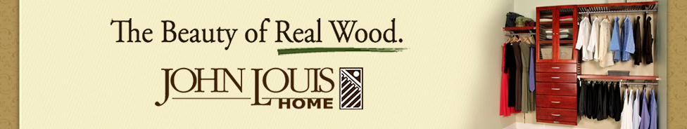 The Beauty of Real Wood. John Louis Home
