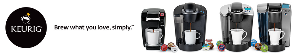 Keurig: Brew what you love, simply.
