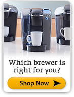 Which Brewer is Right for You? Shop Now.