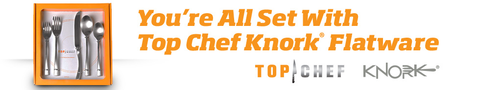 You're All Set with Top Chef Knork Flatware