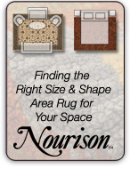 Finding the Right Size and Shape Area Rug for Your Space