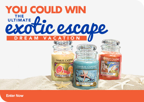 Yankee Candle Exotic Escape Enter Now