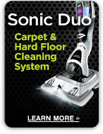 Sonic Duo Carpet & Hard Floor Cleaning System