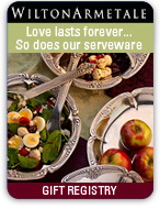 Love Lasts Forever... So Does Our Serveware