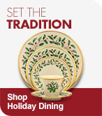 Set the Tradition Shop Holiday Dining
