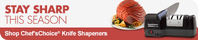 Stay Sharp This Season Shop ChefsChoice Knife Sharpeners