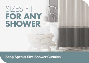 Shop Special Size Shower Curtains