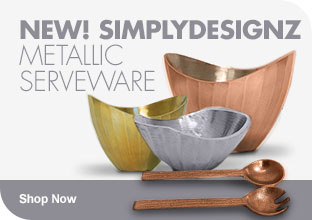 Shop Metallic Serveware