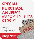 Shop Special Purchase on Select Rugs