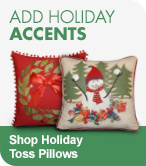 Shop Holiday Toss Pillows