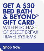 Get $30 Gift Card with Select Britax Travel Systems Purchase