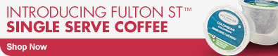Introducing Fulton ST Single Serve Coffee - Shop Now