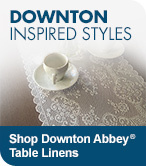Shop Downton Abbey Table Linens
