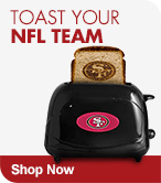 Shop NFL Toasters Now