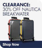 Clearance 30% off Nautica Breakwater Luggage