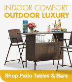 Shop Patio Tables & Bars