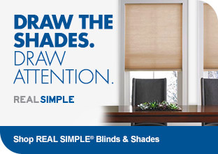 Shop RealSimple Blinds & Shades