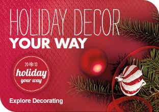 Holiday Decor Your Way