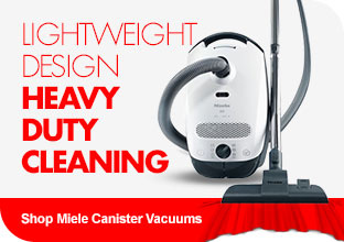Shop Miele Canister Vacuums