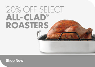 20% Off Select All-Clad Roasters Shop Now