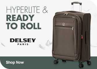 Hyperlite & Ready to Roll Delsey Shop Now