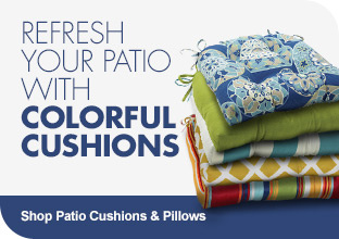 Shop Patio Cushions & Pillows