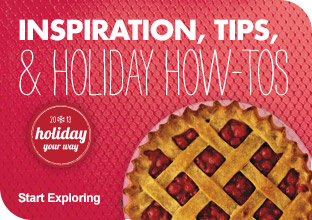 Inspirations, Tips & Holiday How-Tos