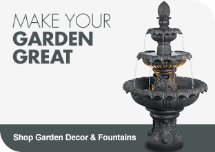 Shop Garden Decor & Fountains